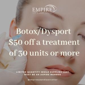dysport $50 off